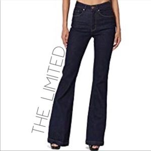 The Limited retro flare bell boho jeans 4 25